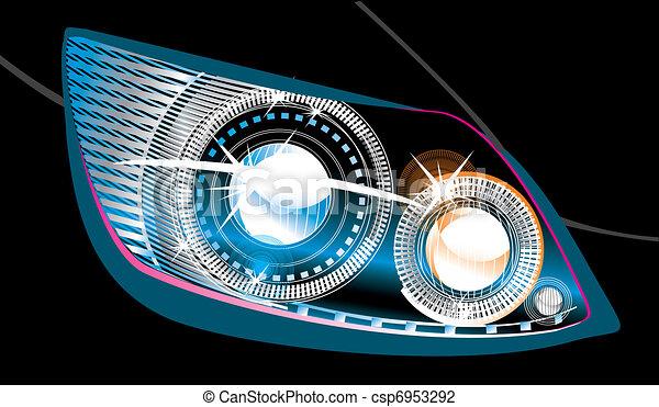 headlight  - csp6953292