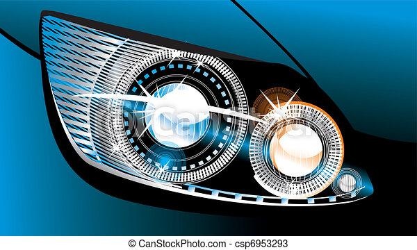 headlight  - csp6953293