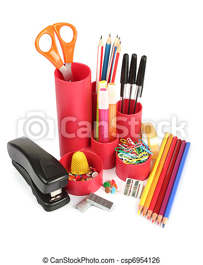 Assortment of stationery - csp6954126