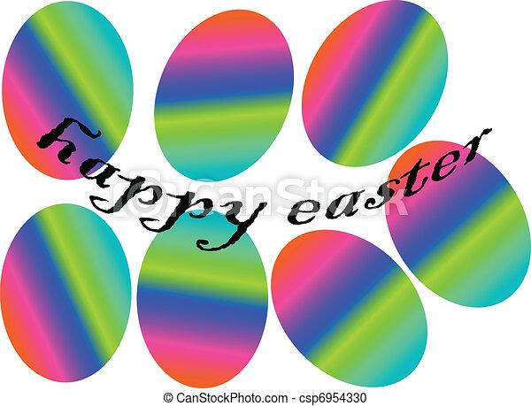 eastern eggs - csp6954330
