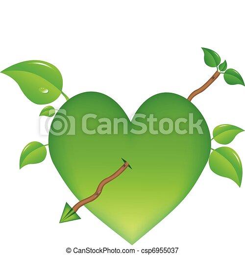 Growing heart - csp6955037