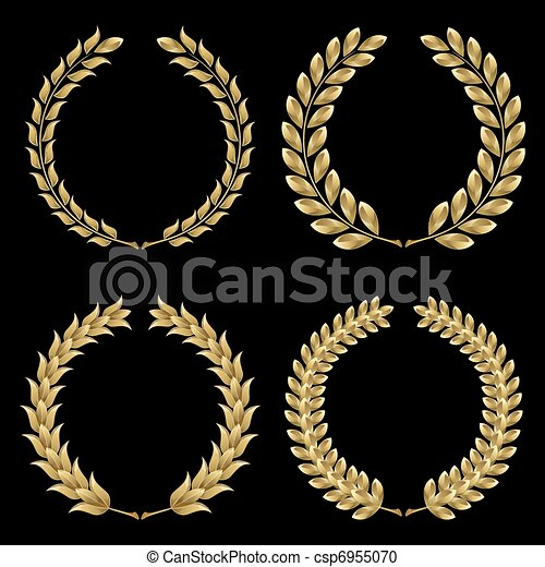 Laurel wreath - csp6955070