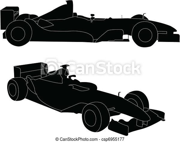 Formula car - csp6955177