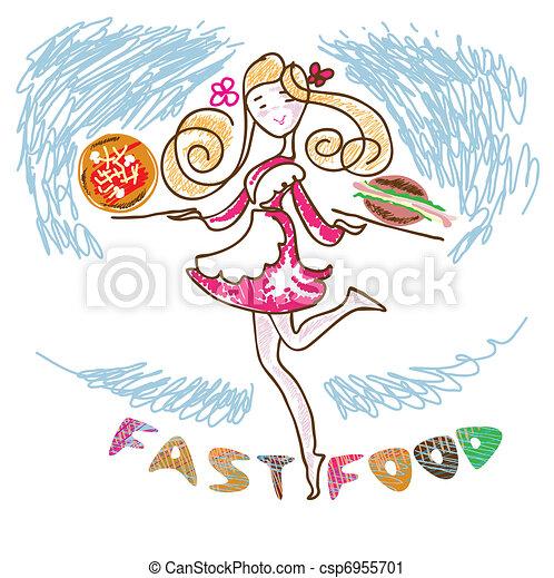 Fast food - csp6955701