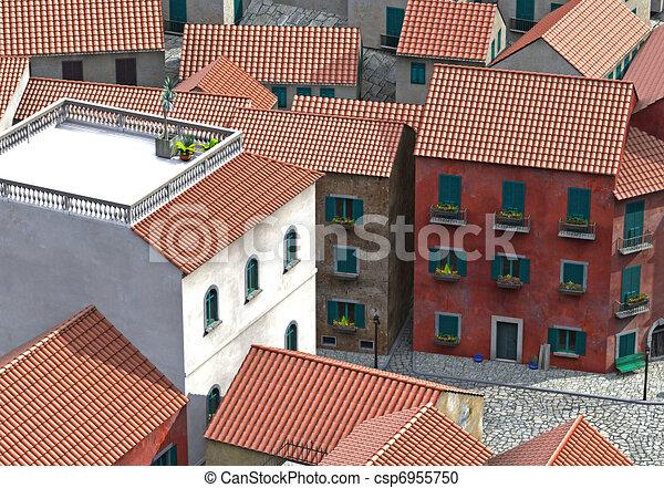 mediteran village - csp6955750