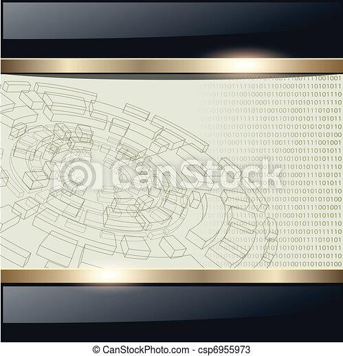 Technology background - csp6955973
