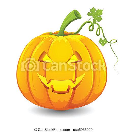 Halloween Pumpkin - csp6956029