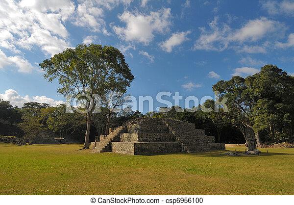 arqueológico, parque, copan - csp6956100