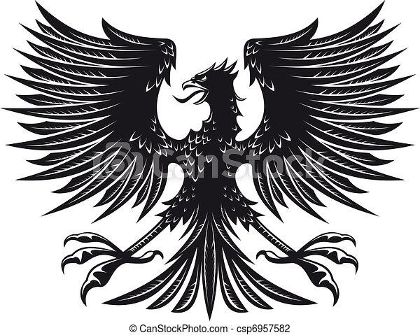 Heraldic eagle - csp6957582