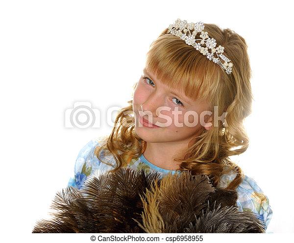 Beautyful princess - csp6958955