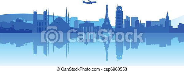 Travelling Around Europe - csp6960553