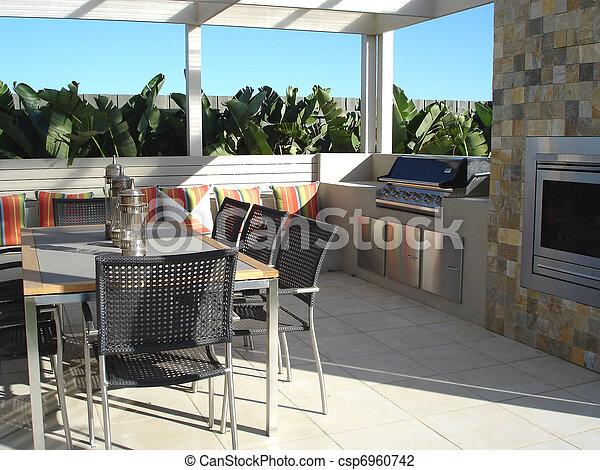 Backyard Barby                    - csp6960742