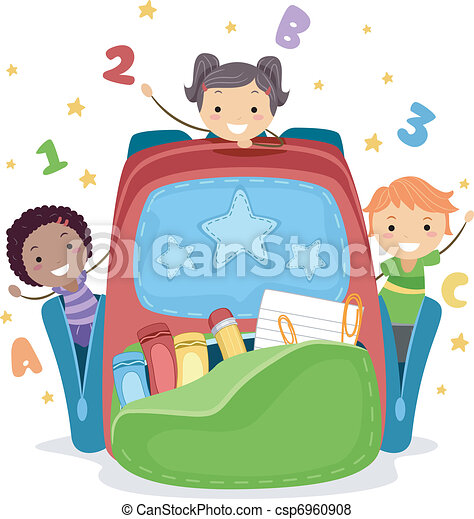 Children's Bag - csp6960908