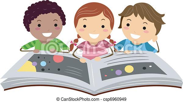 Science Book - csp6960949
