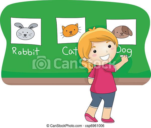 Animal Lesson  - csp6961006