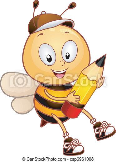 Bee Pencil - csp6961008