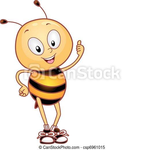 Bee Thumbs Up - csp6961015