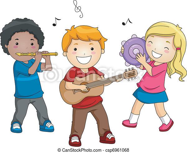 música, Instrumentos - csp6961068