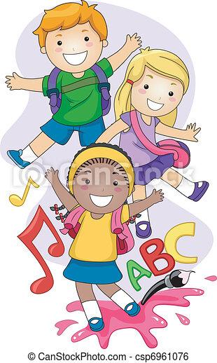 Preschool Kids - csp6961076