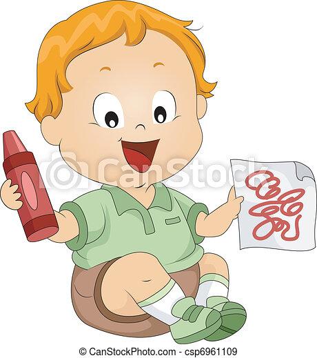 Toddler Doodles - csp6961109