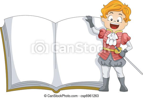 Prince Book - csp6961263
