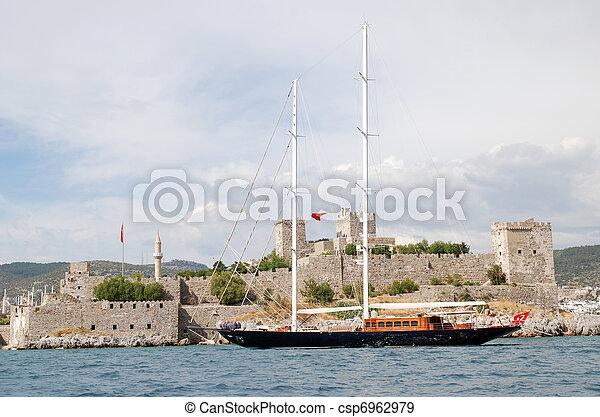 Schooner type yacht & Yacht Charter - csp6962979