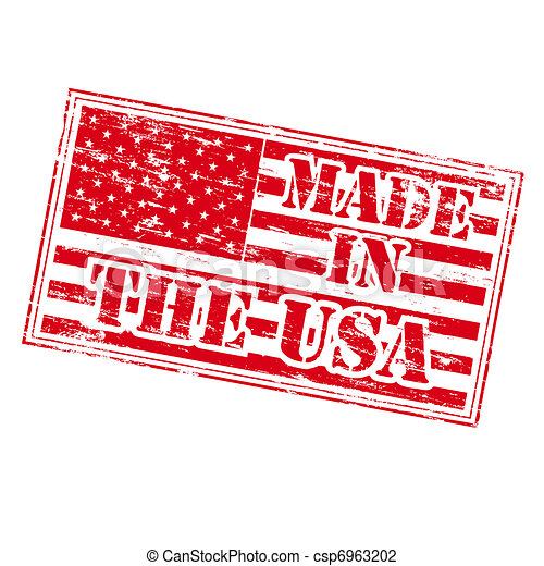 MADE IN THE USA Rubber Stamp - csp6963202