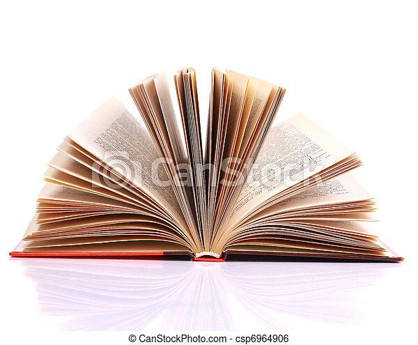 open book - csp6964906