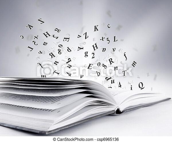 open book  - csp6965136