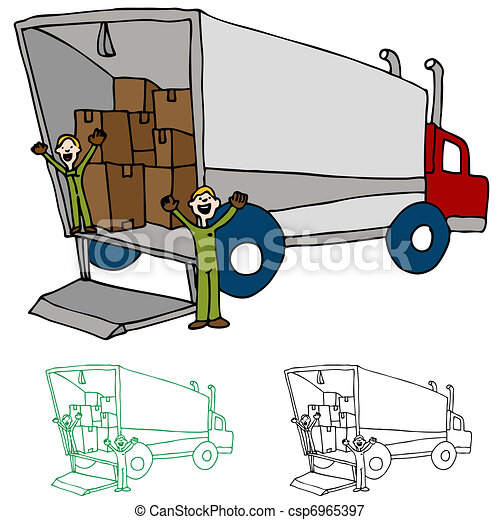 Moving Truck Company - csp6965397