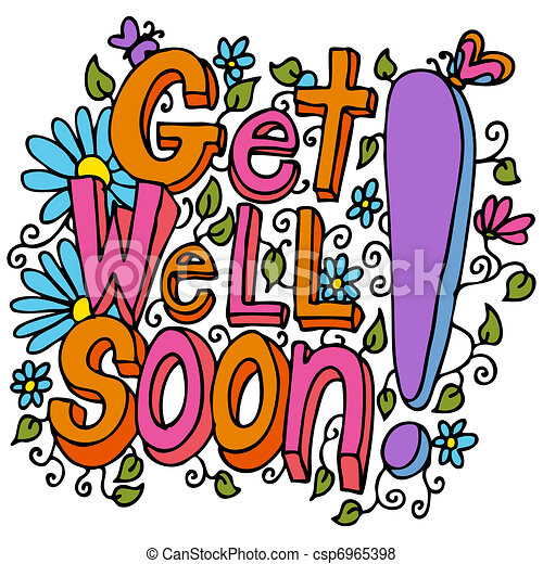 Get Well Soon Message - csp6965398