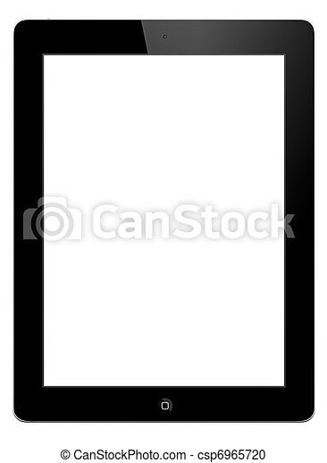 Tablet PC - IPAD 2 - csp6965720