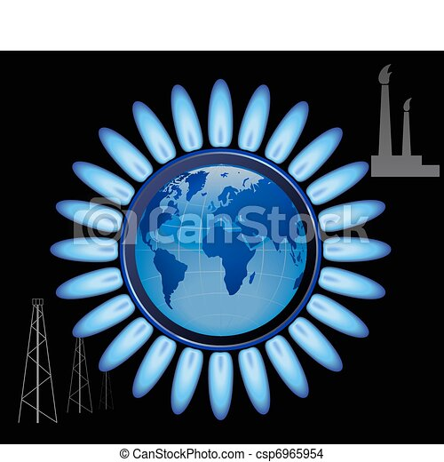 Natural gas. - csp6965954