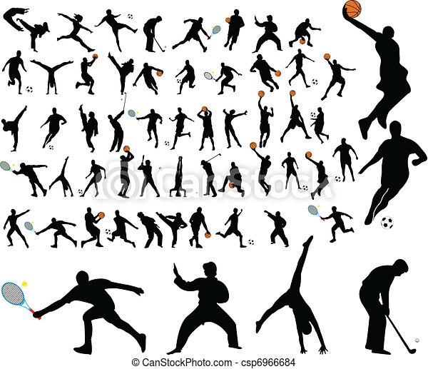high quality sportsmen - csp6966684