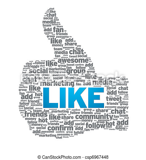 Like - Thumb Up - csp6967448