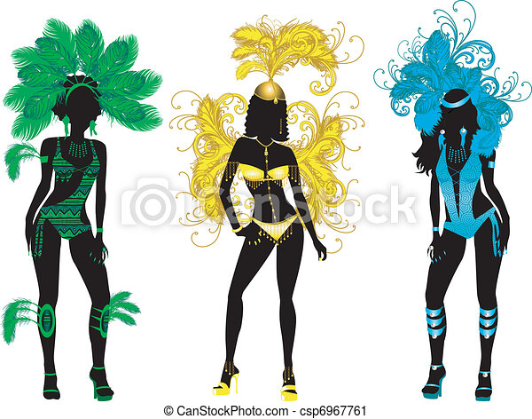 Carnival Silhouettes - csp6967761