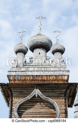 Wooden churches - csp6968184