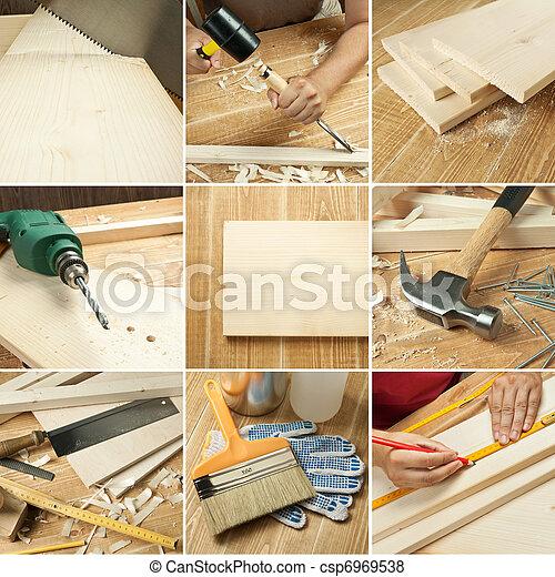 Tools collage - csp6969538