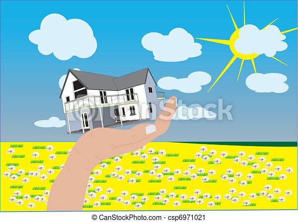 Countryside House - csp6971021