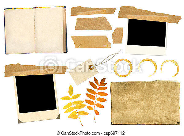 Collection elements for scrapbooking - csp6971121