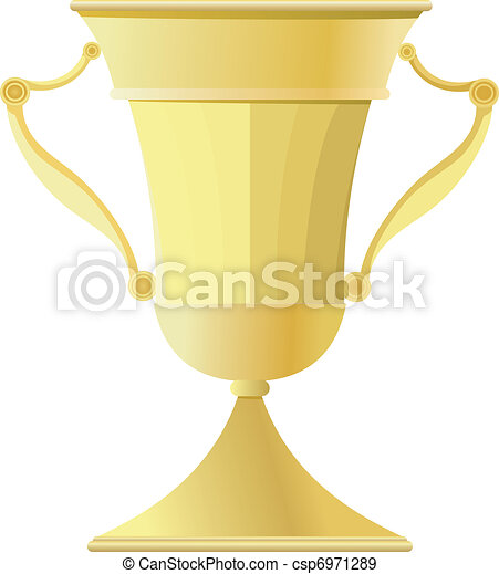 Gold Cup. vector - csp6971289