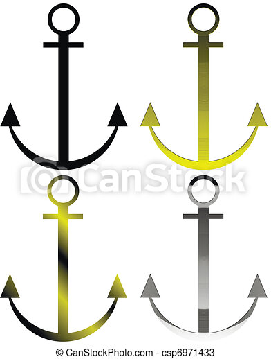 Set of anchor symbols - csp6971433