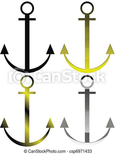 Set of anchor symbols - csp6971433