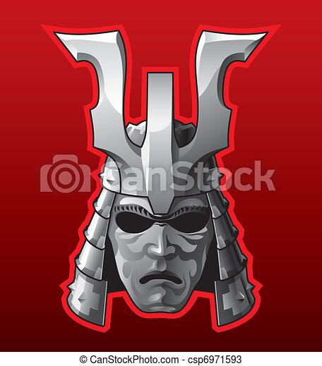 Samurai helmet - csp6971593