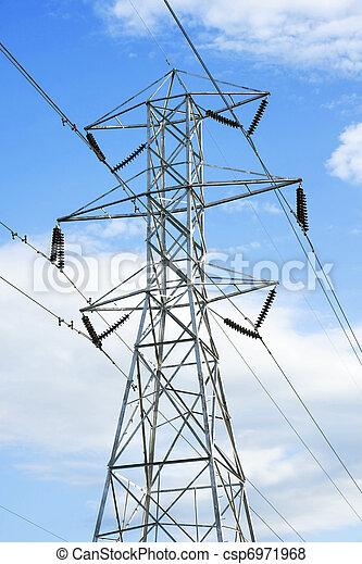 High voltage powerline - csp6971968