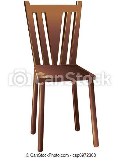 Vector de mbela silla color dibujo un pedazo de for Buscar sillas