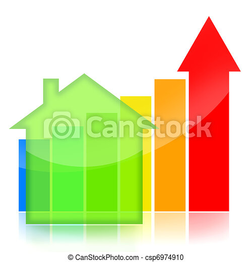 Housing market business charts - csp6974910