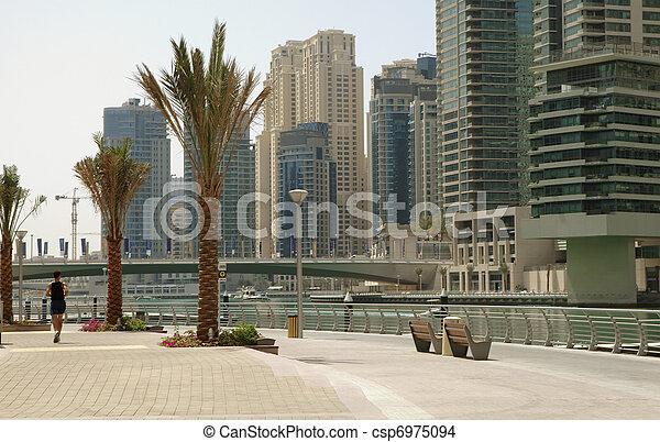 Town scape. Dubai - csp6975094
