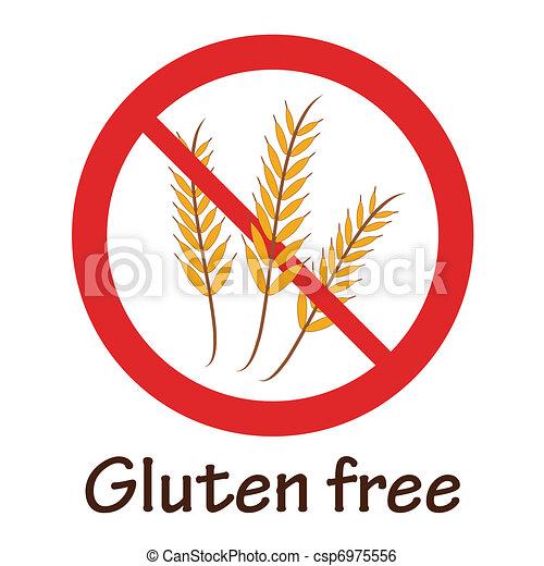 Gluten free symbol - csp6975556