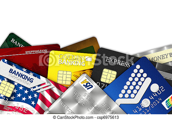 Fake credit cards - csp6975613